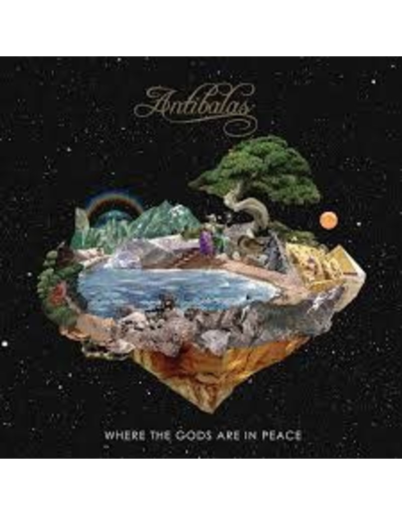 (LP) Antibalas - Where The Gods Are In Peace  (DIS)