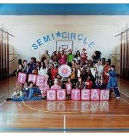 (LP) Go! Team - Semicircle (Indie, Pink)