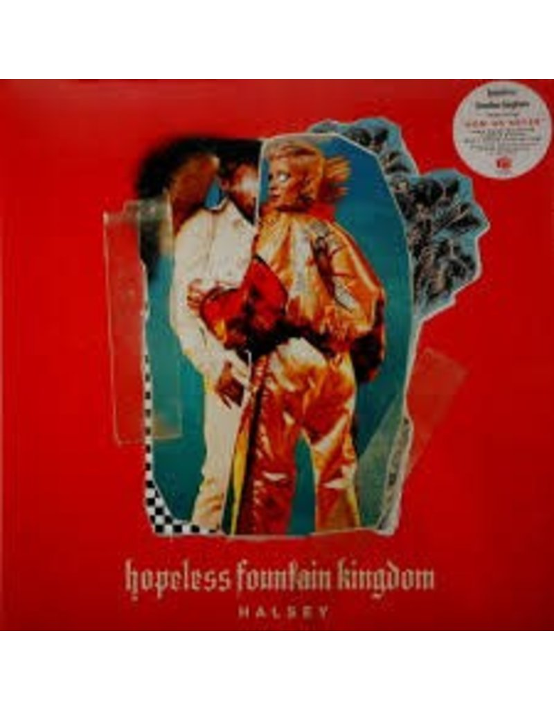 (LP)  Halsey -  Fountain Kingdom (red Vinyl - indie excl)