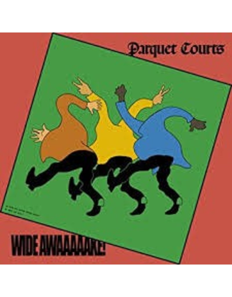 (CD) Parquet Courts - Wide Awake