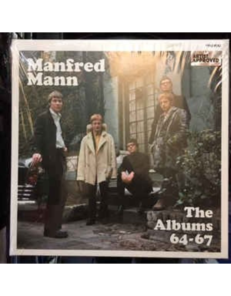 (LP) Manfred Mann - The Albums '64-'67 (4LP+DVD) RSD18
