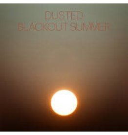 (LP) Dusted - Blackout Summer (Clear W/Black Smoke)