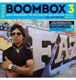 (LP) Various - Boombox 3: Early Independent Hip Hop (3LP)