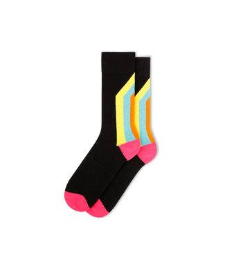 Fun Socks FM11GST2C-014 | FUN SOCKS GEO STRIPE - HOMME