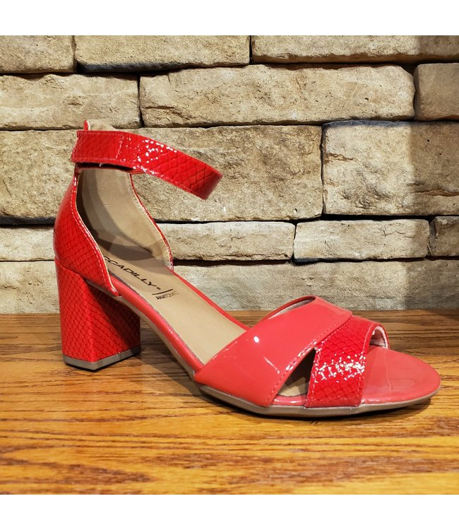 Piccadilly L1-685008 | PICCADILLY SANDALES - ROUGE