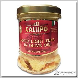 Callipo Callipo Solid Light Tuna in Olive Oil 7 Oz Jar (200g)