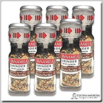 Cannamela Cannamela Bruschetta Blend 3.5g Grinder (Pack of 6)