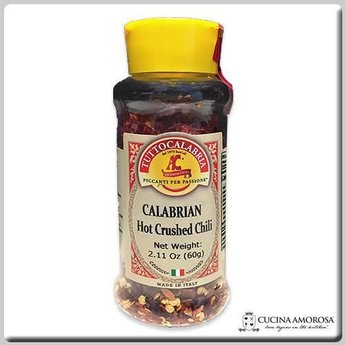 TuttoCalabria TuttoCalabria Dried Crusched Chili Peppers 2.11 Oz (60g)