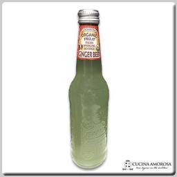 Galvanina Galvanina Ginger Beer Organic Sparkling Soda 12 Fl. Oz. (355 Ml) Bottle (Pack of 6)