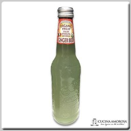 Galvanina Galvanina Ginger Beer Organic Sparkling Soda w/Pulp  355 Ml (Case of 12)