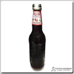 Galvanina Galvanina Pomegranate Organic Sparkling Soda w/Pulp  355 Ml (Case of 12)