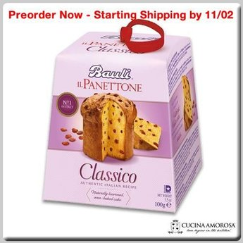 Bauli Bauli Panettone Classico MIni (Without Candied Peels) (100g) 3.5 Oz Box