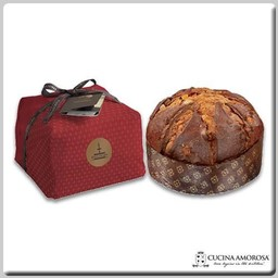 Fiasconaro Fiasconaro Sicilian Panettone Flavored with Marsala & Zibibbo Wines Handwrapped 2.2 Lbs (1 kg)