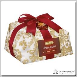 Balocco Balocco Il Panettone Mandorlato Incartato a Mano - Gift Wrapped (1000g) 2.2 Lbs