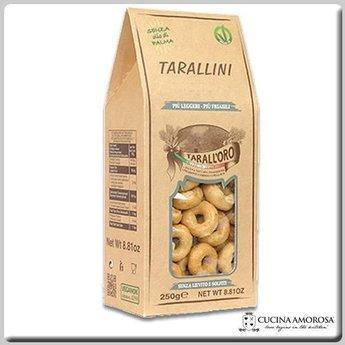 Tarall'oro Tarall'Oro Tarallini Casarecci - Plain 8.8 Oz Box (250g)