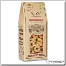 Tarall'oro Tarall'Oro Tarallini al Peperoncino with Red Pepper - 8.8 Oz Box (250g)