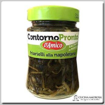 D'Amico Grano Eggplants Strips in Oil 9.9 Oz (280g)