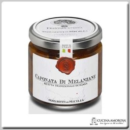 Frantoi Cutrera Frantoi Cutrera Siciiian Eggplant Caponata 6.7 Oz (190g) Jar