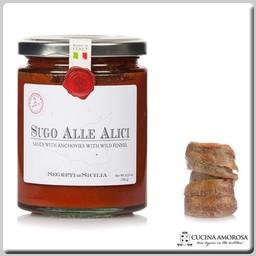 Frantoi Cutrera Frantoi Cutrera Segreti di Sicilia Sicilian Anchovy & Fennel Tomato Sauce 10.23 Oz (290g) Jar