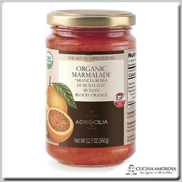 Agrisicilia Agrisicilia Sicilian Organic Blood Orange Marmelate 12.7 Oz (360g)