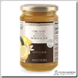 Agrisicilia Agrisicilia Sicilian Organic Lemon Marmelate 12.7 Oz (360g)
