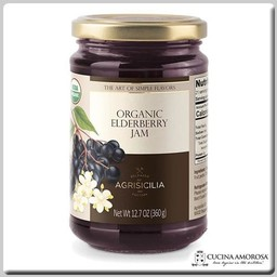 Agrisicilia Agrisicilia Sicilian Organic Elderberry Jam 12.7 Oz (360g)