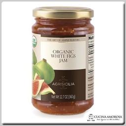 Agrisicilia Agrisicilia Sicilian Organic White Fig Jam 12.7 Oz (360g)