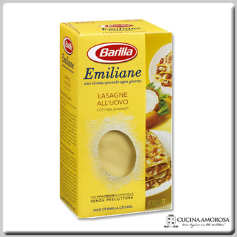 Barilla Barilla Emiliane Lasagna Egg Pasta Sheets Made in Italy 16.7 Oz (500g)