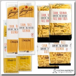 Garofalo Pasta Gluten Free Collection 8 Packs 8 Lbs