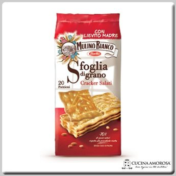 Mulino Bianco Mulino Bianco Crackers Sfoglia di Grano Salati 17.6 Oz (500g)