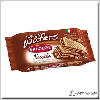 Balocco Balocco Wafer Snack Hazelnut 1.76 Oz (45g)