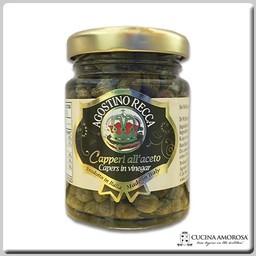 Agostino Recca Agostino Recca Capers Wine Vinegar 3.74 Oz (106g) Jar