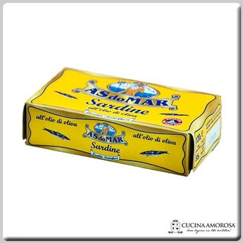 As Do Mar As Do Mar Sardine in Olive Oil 4.23 Oz Tin