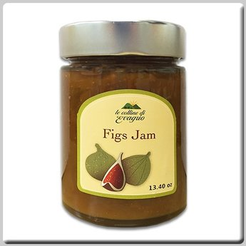 Le Colline di Evagrio Antenucci - Le Colline di Evagrio - Figs Jam 13.4 Oz (380g) Jar