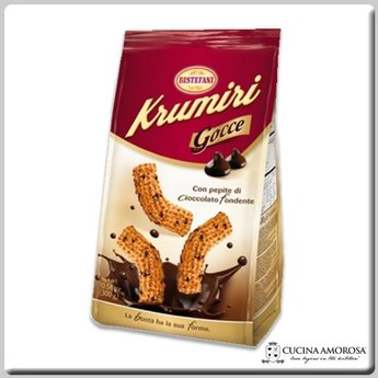 Bistefani Bistefani Krumiri Gocce With Chocolate Chips 10.6 OZ