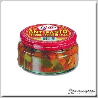 Polli Polli Antipasto With Tuna And Veggies 7 Oz Jar
