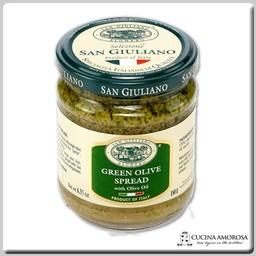 San Giuliano San Giuliano Green Olive Spread 6.35 Oz