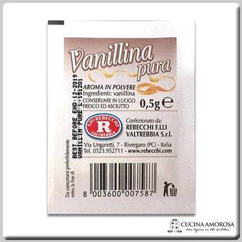 Rebecchi Rebecchi Vanillina Pura 0.5g Envelope (Display of 100)