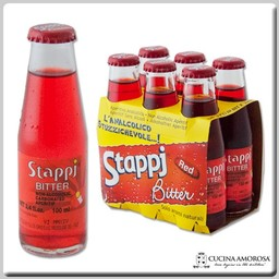 Stappi Stappj Red Bitter 3.5 Fl Oz (Pack of 6)