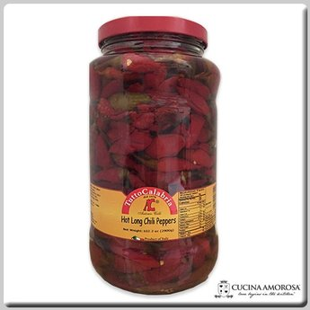TuttoCalabria TuttoCalabria Hot Long Chili Peppers 2.8 kg