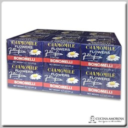 Bonomelli Bonomelli Camomile 10 Filters 0.7 Oz (Pack of 12)