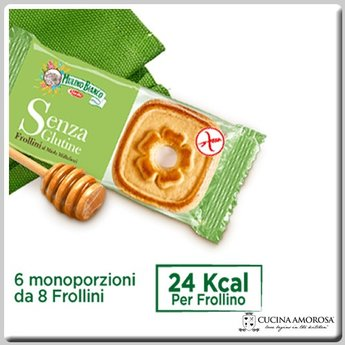 Mulino Bianco Mulino Bianco Gluten Free Short Bread with Honey 8.8 Oz (250g)