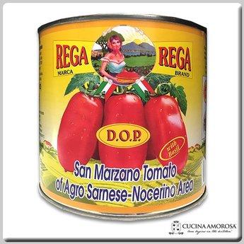 Strianese Strianese Italian San Marzano DOP Peeled Tomatoes w/Basil 90 Oz (3kg) Tin (Case of 6)