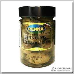 Renna Renna Green Cerignola 10.5 Oz Jar
