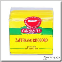 Cannamela Cannamela Zafferano-Saffron Risodoro Bag 0.1g (Box of 50)
