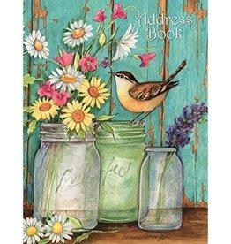 Lang Address Book/ Flower Jars