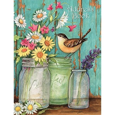 Lang Address Book/ Flower Jars