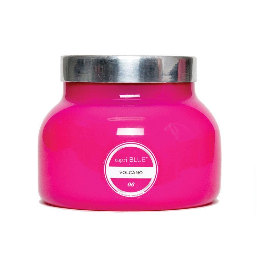 Curio/ Capri Blue Petite Signature Jar Candle/ Pink Volcano