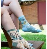 blue Q Blue Q Socks/ Here Comes Trouble