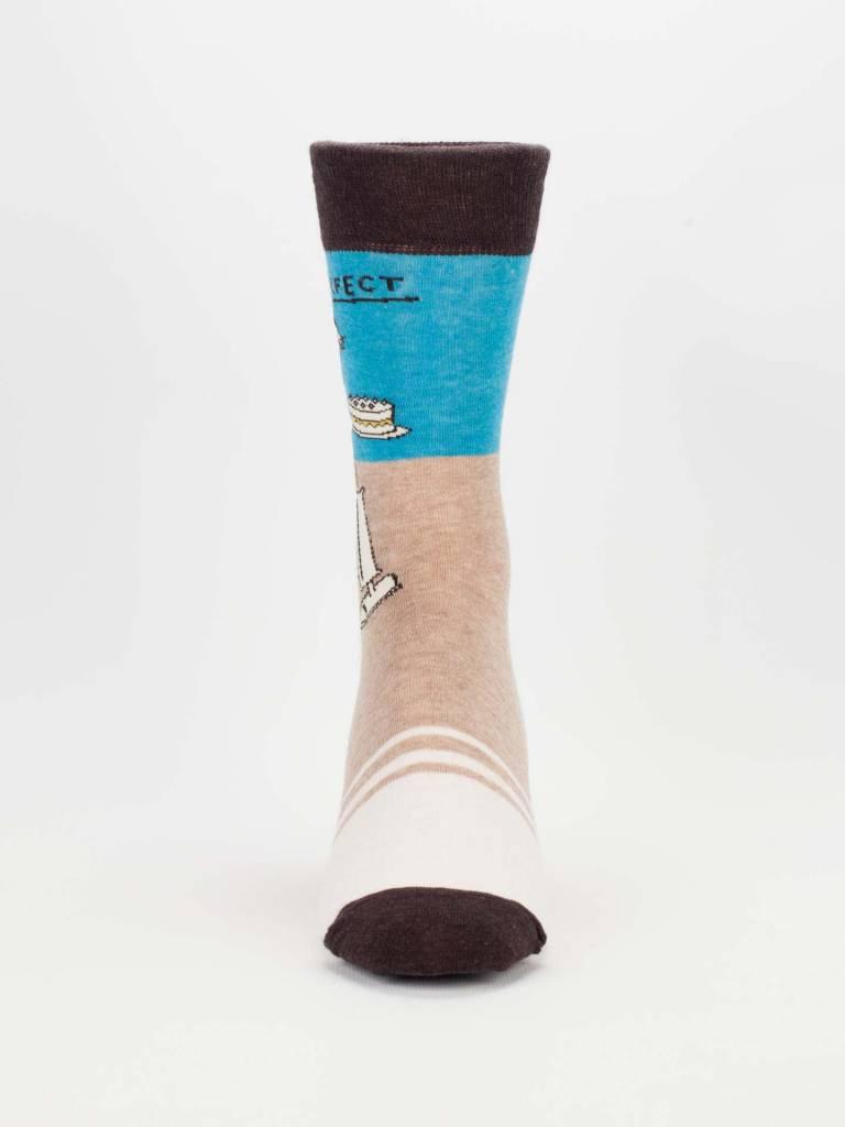 blue Q Blue Q Men's Socks/ Mr Perfect